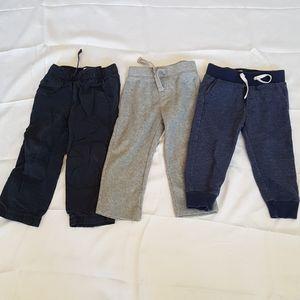 2/$20 boy 2T pants Baby Gap & Old Navy